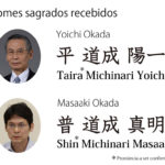 Yoichi Okada e seu filho haviam recebido um nome sagrado da Igreja Jesus Cristo Japan Michinari – Casa do Pai