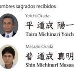 Yoichi Okada y su hijo habían recibido un nombre sagrado de la Iglesia Jesús Cristo Japan Michinari – Casa del Padre